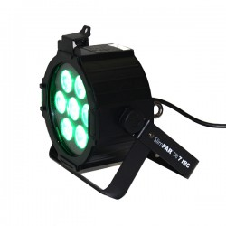 PROJECTEUR LED SLIM PAR 7X3