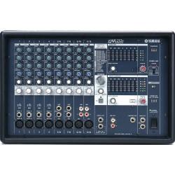 TABLE DE MIXAGE AMPLIFIE YAMAHA EMX + 2 HP EV 2 x 200W