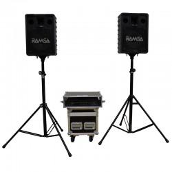 SONORISATION RAMSA A200 2 x 200W
