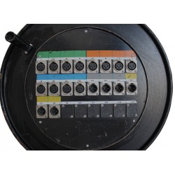 MULTIPAIRE AUDIO XLR - XLR 12 Entr'es / 6 Sorties / 30 M