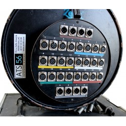 MULTIPAIRE AUDIO XLR - XLR 24 Entr'es / 8 Sorties / 30 M